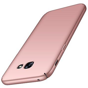 anccer Funda para Samsung Galaxy A5 2017 [Serie Colorida] [Ultra-Delgado] [Ligera] Anti-rasguños Estuche para Carcasa Samsung Galaxy A5 2017 (Oro Rosa ...