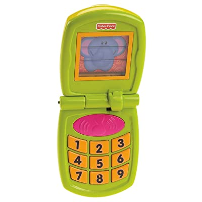 Fisher-Price Growing Baby Fun Sounds Flip Phone: Toys & Games
