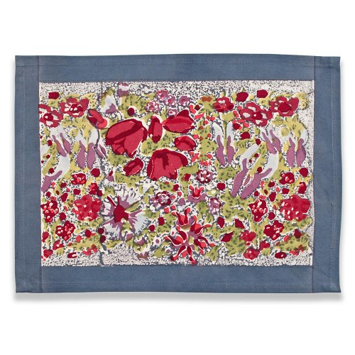 Couleur Nature Jardine Mats, 15-inches by 18-inches, Red/Grey by Couleur Nature