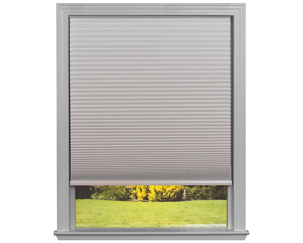 Easy Lift Trim-at-Home Cordless Cellular Blackout Fabric Shade Natural, 30 in x 64 in, (Fits windows 19''- 30'')