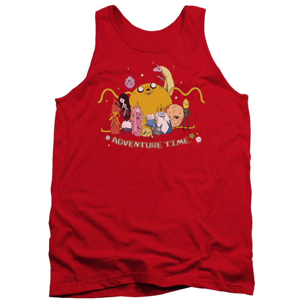 Outstretched Adult Tank Top Adventure Time