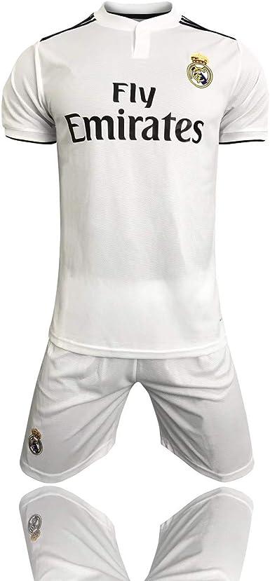 Fan Shirts2019-2020 (Home) Real Madrid Traje de Fútbol, sudor ...