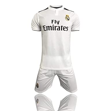 Camisetas para fanáticos2019-2020 (casa) Real Madrid Traje de ...