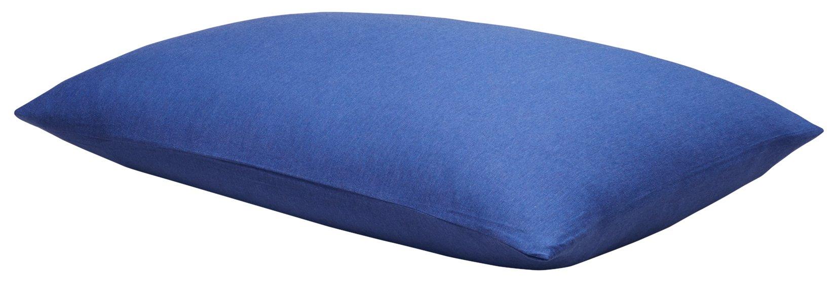 Calvin Klein Home 1110113-ST-C1-B6 Modern Cotton Harrison Pillowcase Pair, Standard, Cobalt