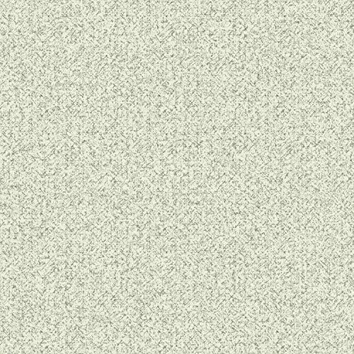 York Wallcoverings NR1540 Norlander Woolen Weave Wallpaper White