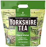 Yorkshire Tea Hard Water Catering (Pack of 1, Total 480 Bags)