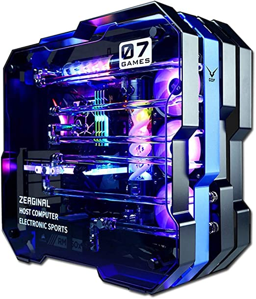 Amazon Com Aceyyk Supremacy Vr 4k Gaming Computer Pc Desktop I9 9900k Dual Rtx 2080ti Sli 11gb Custom Loops Rgb Liquid Cool 64gb Ddr4 1tb 970 Evo M 2 Windows 10 Pro Rtx2080 Home Kitchen