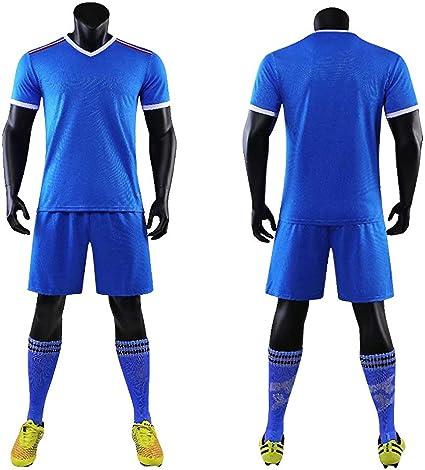 Amazon.com : BUY-TO DIY Mens Soccer Football Jersey Set Kit Men ...