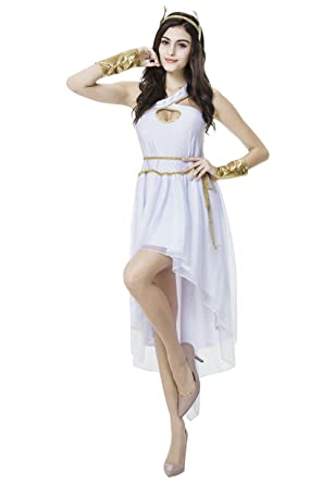 Sexy Greek Goddess Costume - 3 Piece Egyptian Cosplay Costume for Women  sc 1 st  Amazon.com & Amazon.com: Sexy Greek Goddess Costume - 3 Piece Egyptian Cosplay ...