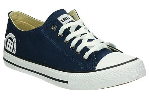 MTNG EMI, Zapatillas para Hombre, Azul (Canvas Marino), 43 EU