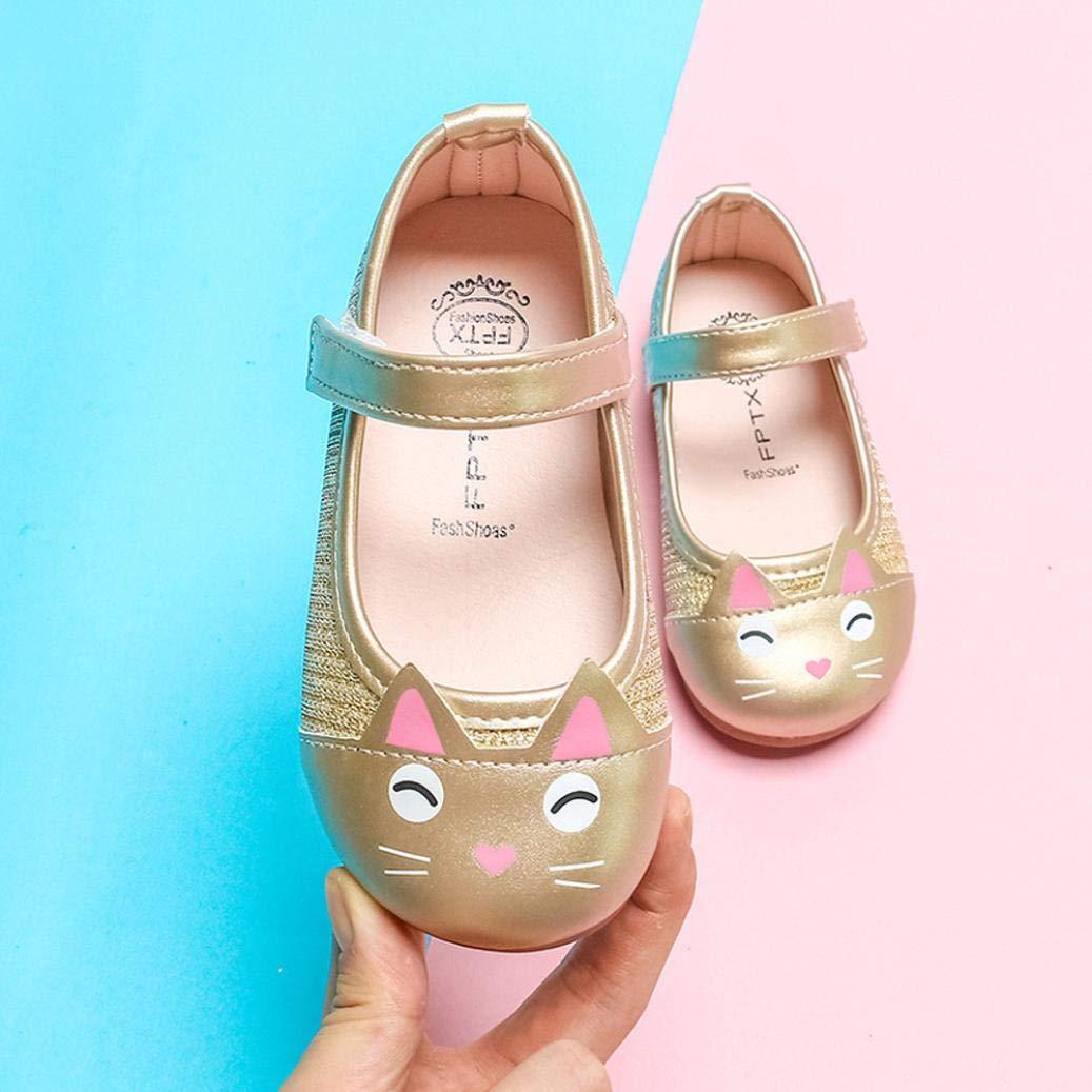 c82112e2f Zapatos de Cuero para Niñas Otoño Invierno 2018 Moda PAOLIAN Zapatos de Vestir  Princesa Boda Niñas