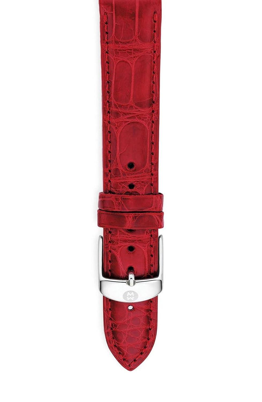 (ミケーレ) MICHELE 20mm Alligator Watch Strap / 20ミリメートルワニ口径ストラップ (並行輸入品) white B077Z4QWHY