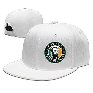 66e81c86062f2c Amazon.com: Beetful Conor Mcgregor Hats Caps White: Clothing