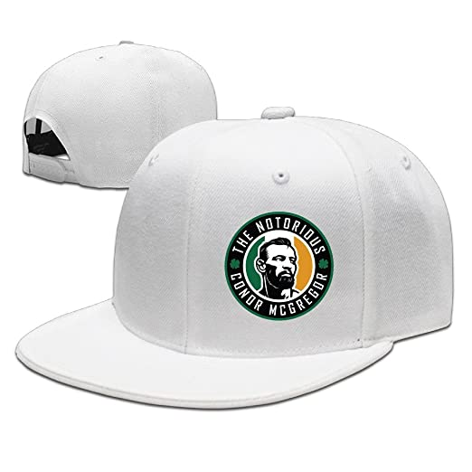 e64ed2c66a0 Amazon.com  Beetful Conor Mcgregor Hats Caps White  Clothing