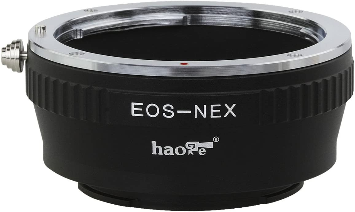 Haoge Lens Adapter for Leica 39mm M39 LTM Lens to Sony E Mount NEX Camera Such as a3000 a3500 a5000 a5100 a6000 a6400 a6500 A7 A7R A7S A7II A7RII A7SII A7III A7RIII A9 VG20 VG30 FS700 EA50 FS7 FS5