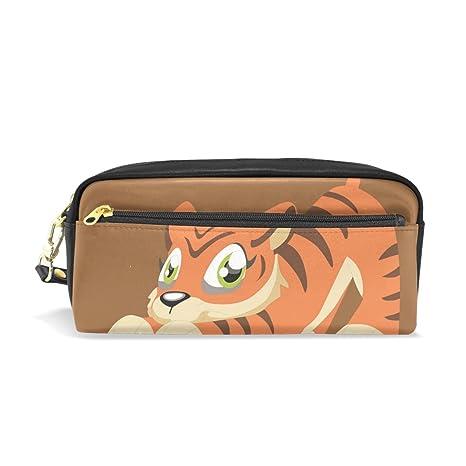 BENNIGIRY Tiger - Estuche escolar para lápices, bolígrafos ...