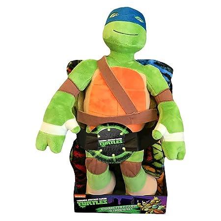 Nickelodeon Kids Teenage Mutant Ninja Turtles Pillow and ...