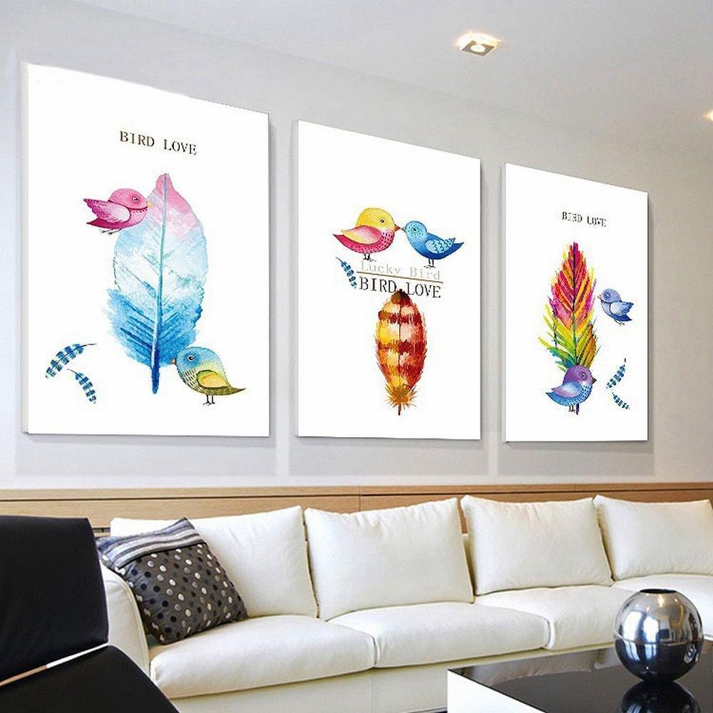 XH Sala de Estar Pinturas Decorativas Pasillo Corredor Hotel Frameless Pinturas Mural Pinturas,Mi,50  70cm