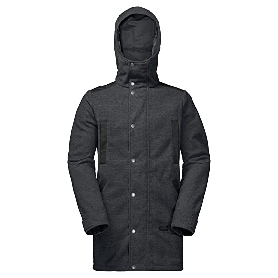 Jack Wolfskin EDMONTON COAT MEN phantom M: