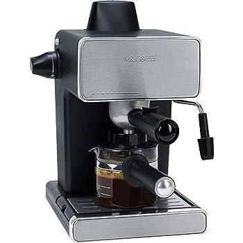 Mr coffee negro y plateado amazon hogar y cocina mr coffee bvmc ecm260 rb 1 vapor espresso y cappuccino maker negro fandeluxe Image collections
