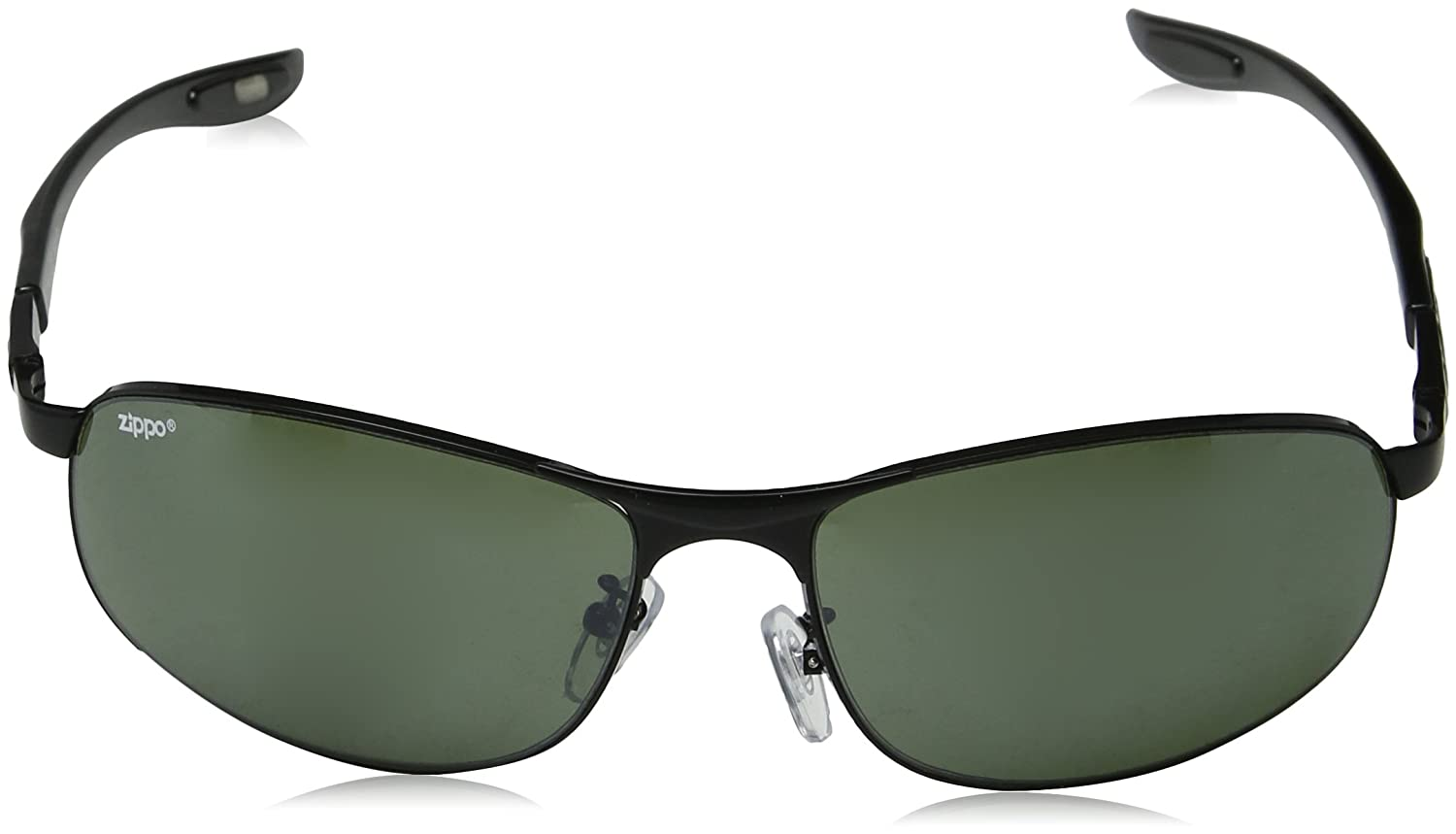 Zippo Frame and Temples Gafas de Sol, Unisex, Negro, Medium: Amazon.es: Deportes y aire libre