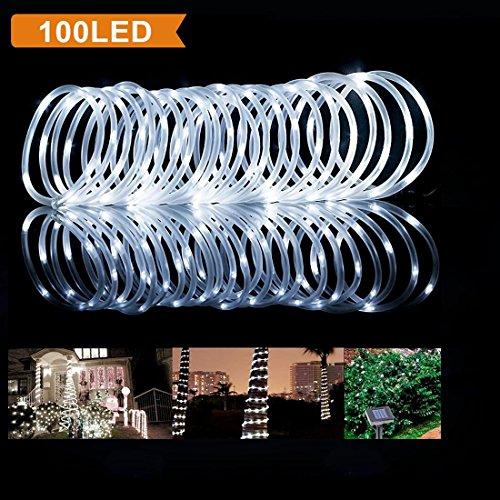 100 Ft Solar Rope Lights - 6
