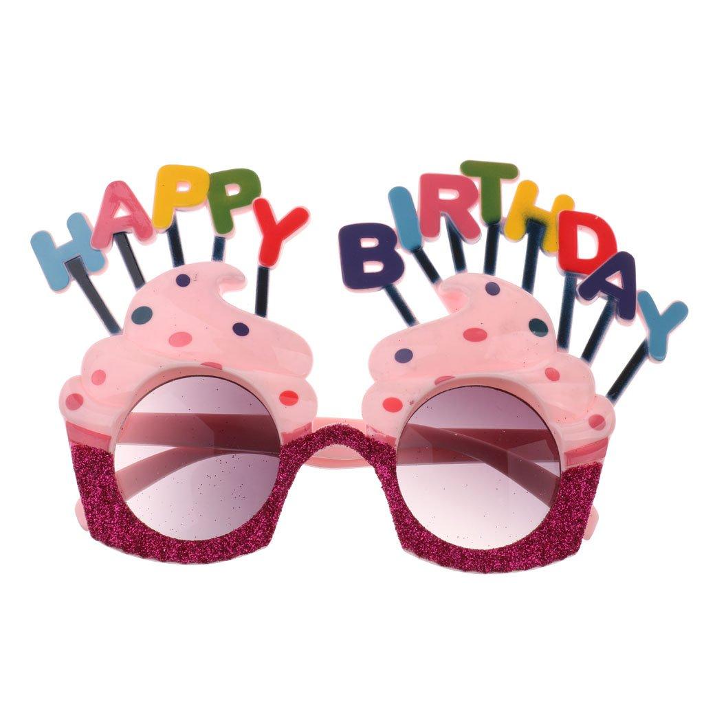 Gafas de Sol Forma Happy Birthday Helado Accesorios de ...