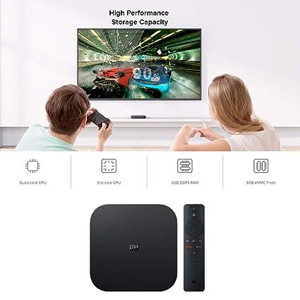 Amazon com: Inverlee home Xiaomi Mi Box S 4K HDR Android TV