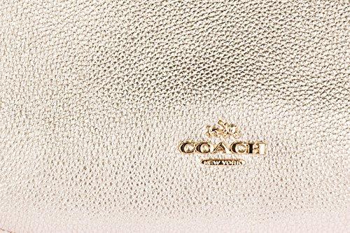 Schultertasche chelsea Coach Leder Gold Tasche Damen Messenger Umhängetasche qxTPtg
