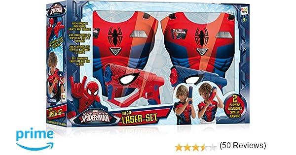 Mega Laser Spiderman - ZESTAW