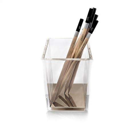Lapicero de escritorio para bolígrafos y lápices