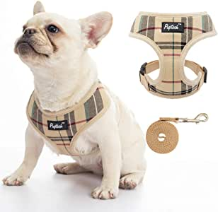 Soft Mesh Dog Harness Pet Puppy Comfort Padded Vest No Pull Harnesses