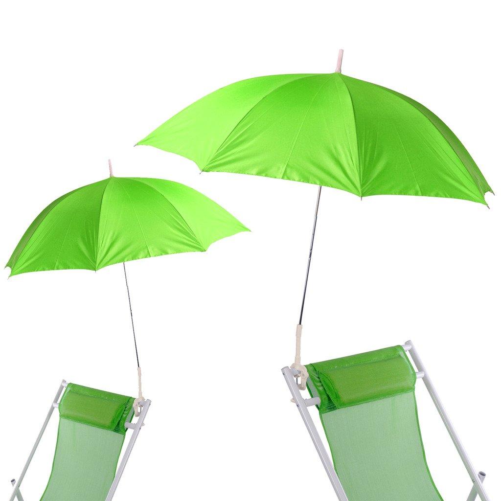 IMC Sonnenschirm-Set grau halbrund inklusive Schirmständer Kurbel günstig OVP