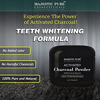 Majestic Pure Activated Charcoal Powder