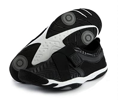 2017 New Aqua shoes Athletic Water Shoes Watersports Footwear Aqua Band Black for Men and Women