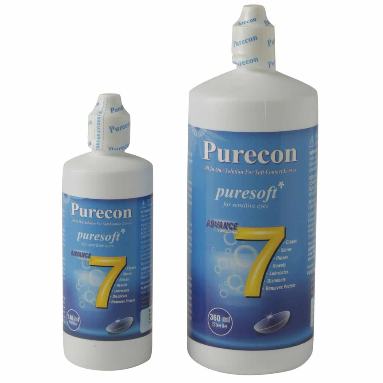 Buy Purecon Puresoft Multi Purpose Solution Combo 500 Ml Online Air Softlens Nice Look 60 At Low Prices In India