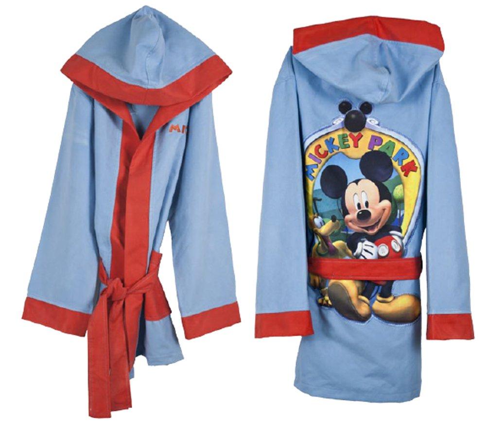 Accappatoio Topolino Disney 7793 microfibra con cappuccio talla 4