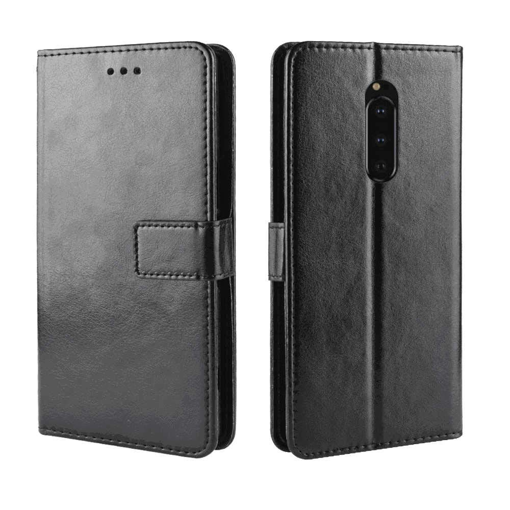 Huawei P30 Flip Case Cover for Huawei P30 Leather Wallet Cover Kickstand Card Holders Extra-Protective Business Flip Cover