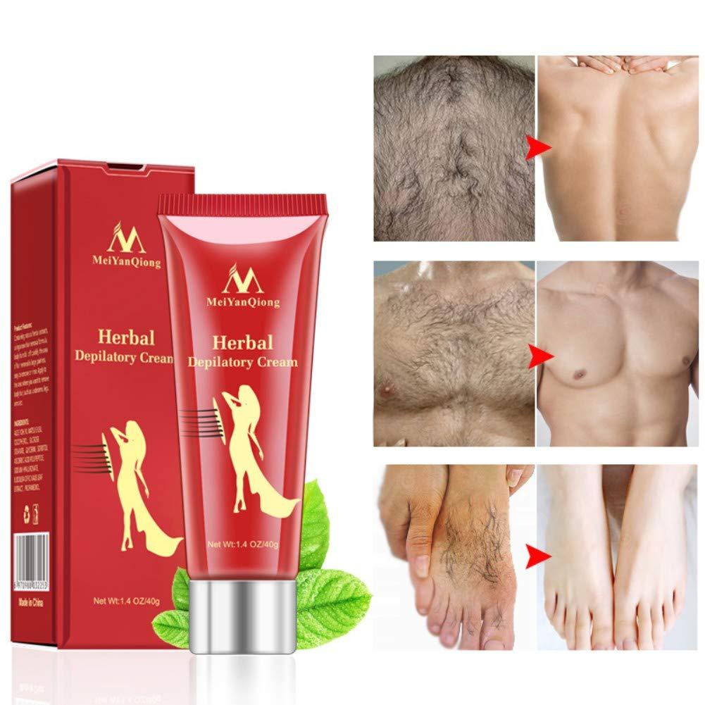 Herbal Body Hair Removal