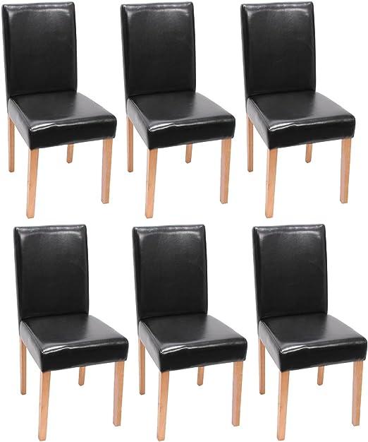 Mendler 6X Esszimmerstuhl Stuhl Küchenstuhl Littau