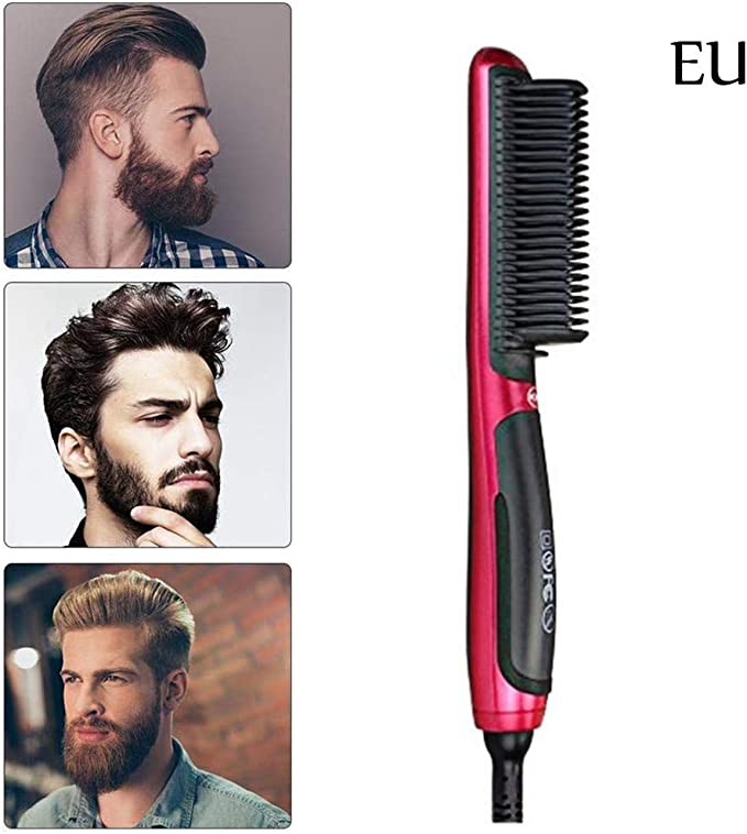 Neborn Portable Men Fast Barba Smoothing Peine Alisador rápido de ...