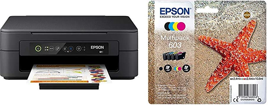 Epson Expression Home Xp 2100 3 In 1 Tintenstrahl Multifunktionsgerät Computer Zubehör