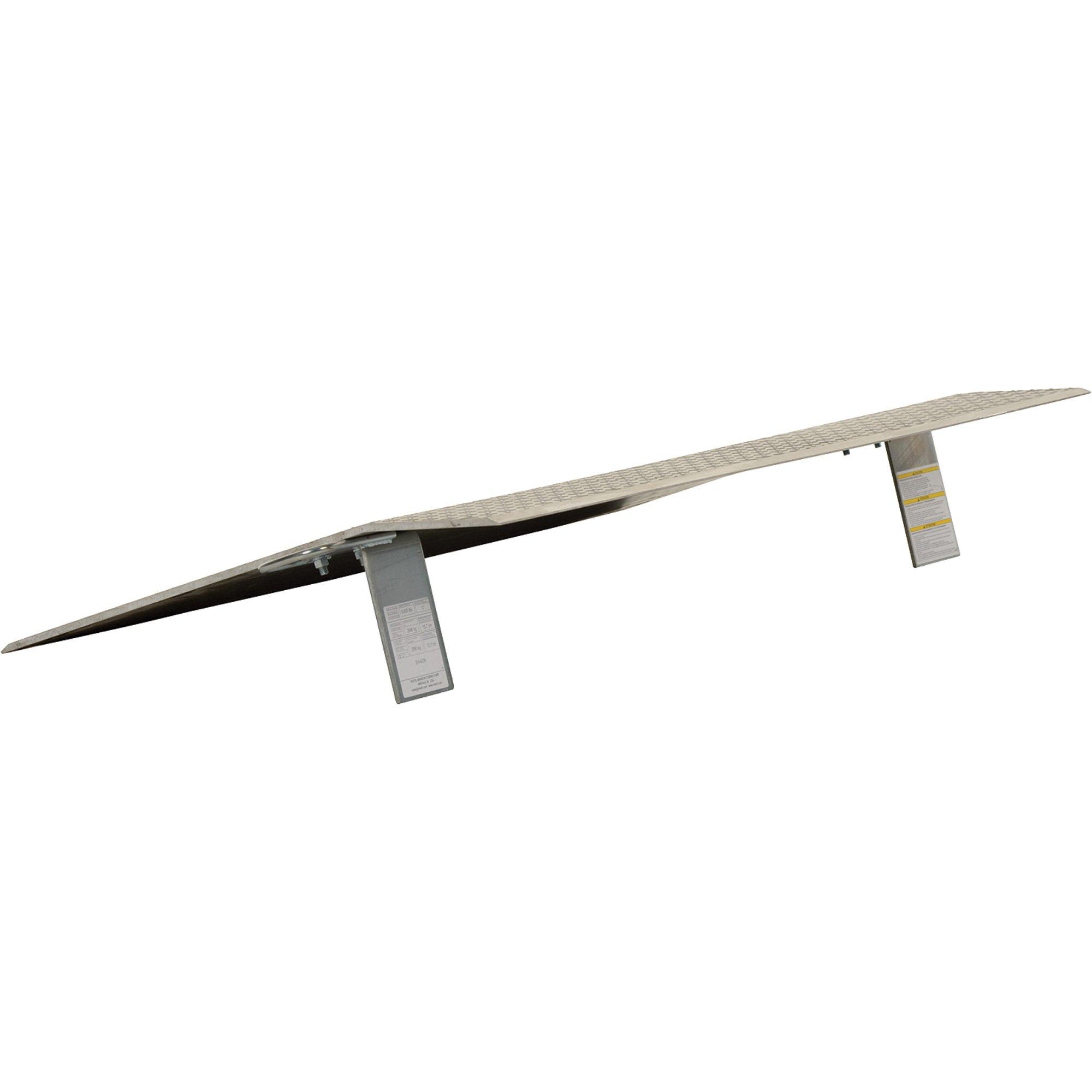 Vestil Economizer Dockplate - Aluminum, 7,800-lb. Capacity, 30in.L x 60in.W, Model# EH-6030