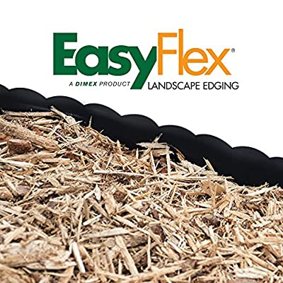 EasyFlex Scallop Top No-Dig Edging Kit