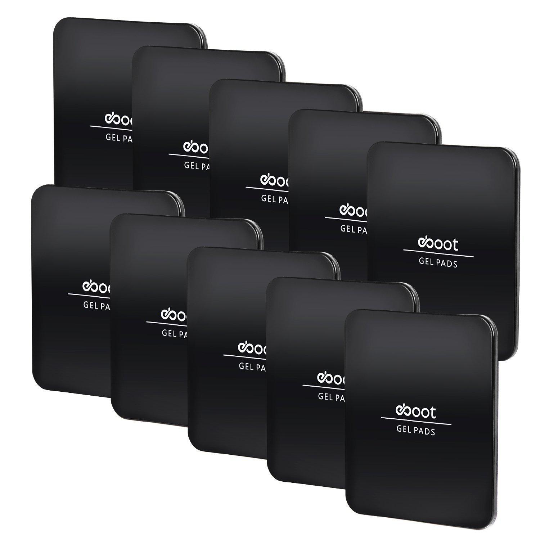 10 Piezas Almohadillas Adhesivas de Get Almohadillas Antideslizantes de Mó vil para Varias Aplicaciones, Negro eBoot 4326583270