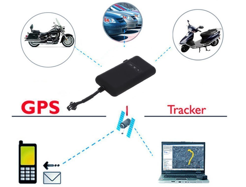 Car Tracker gps,Hangang Car Tracker gps Tracker gps Tracker Vehicle gps Tracker Locator Tracking Device Connected with Car Directly Geo-fence Anti-theft for Car Vehicle Truck GT02A