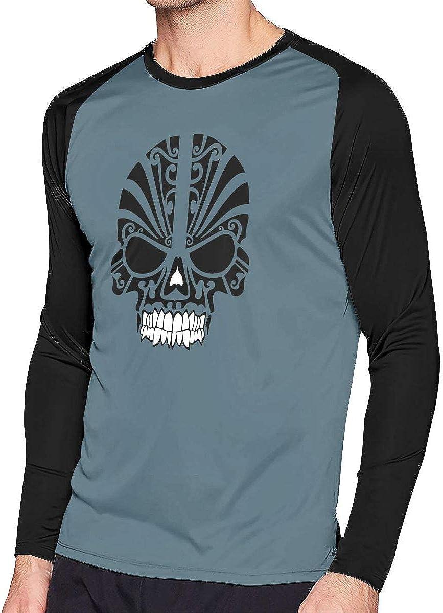 AIDANHAR Design Mexican Style Skeleton Crew-Neck Tshirts for Boys