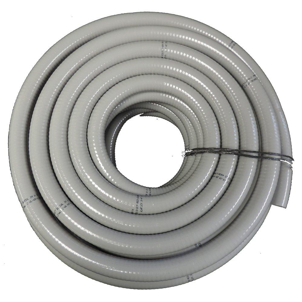 HydroMaxx 3/4'' x 50' NON METALLIC FLEXIBLE PVC LIQUID TIGHT ELECTRICAL CONDUIT
