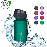 720°DGREE Botella de Agua uberBottle – 350 ML, 350ml   Sin BPA   Ideal para niños, Deportes, Escuela