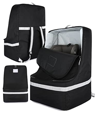Amazon Com Padded Car Seat Travel Bag For Airplanes Fits All